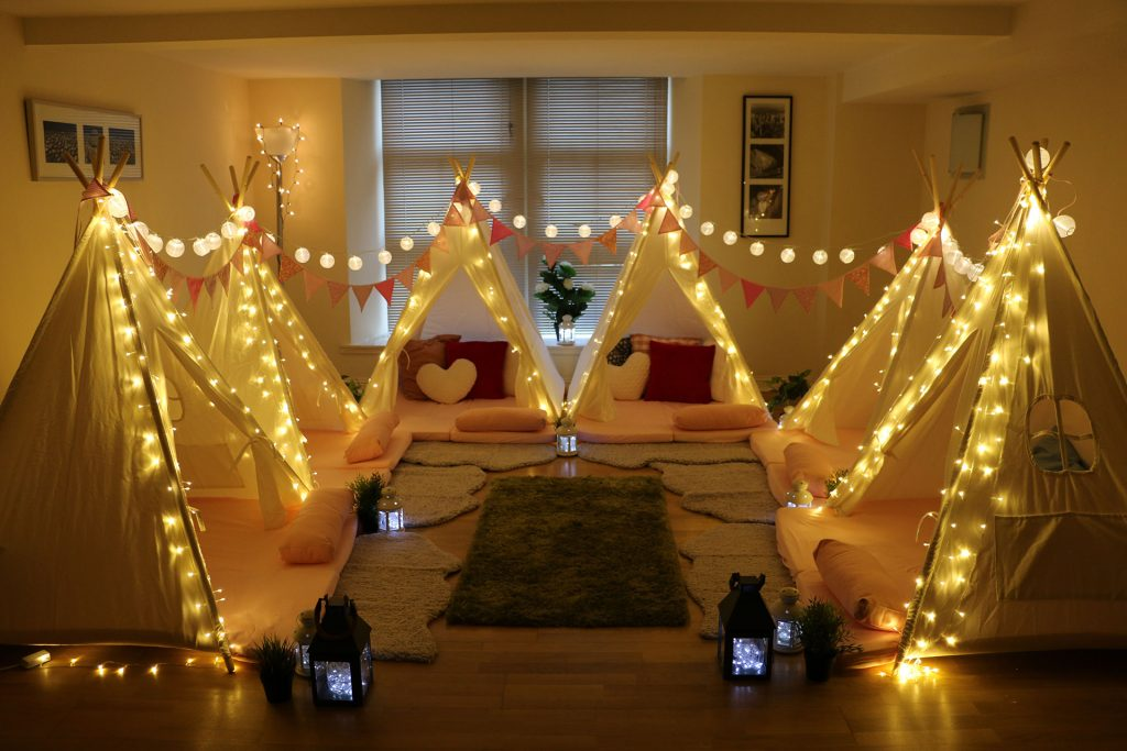Incredible Indoor Parties | Indoor Mini Tipis | Activity