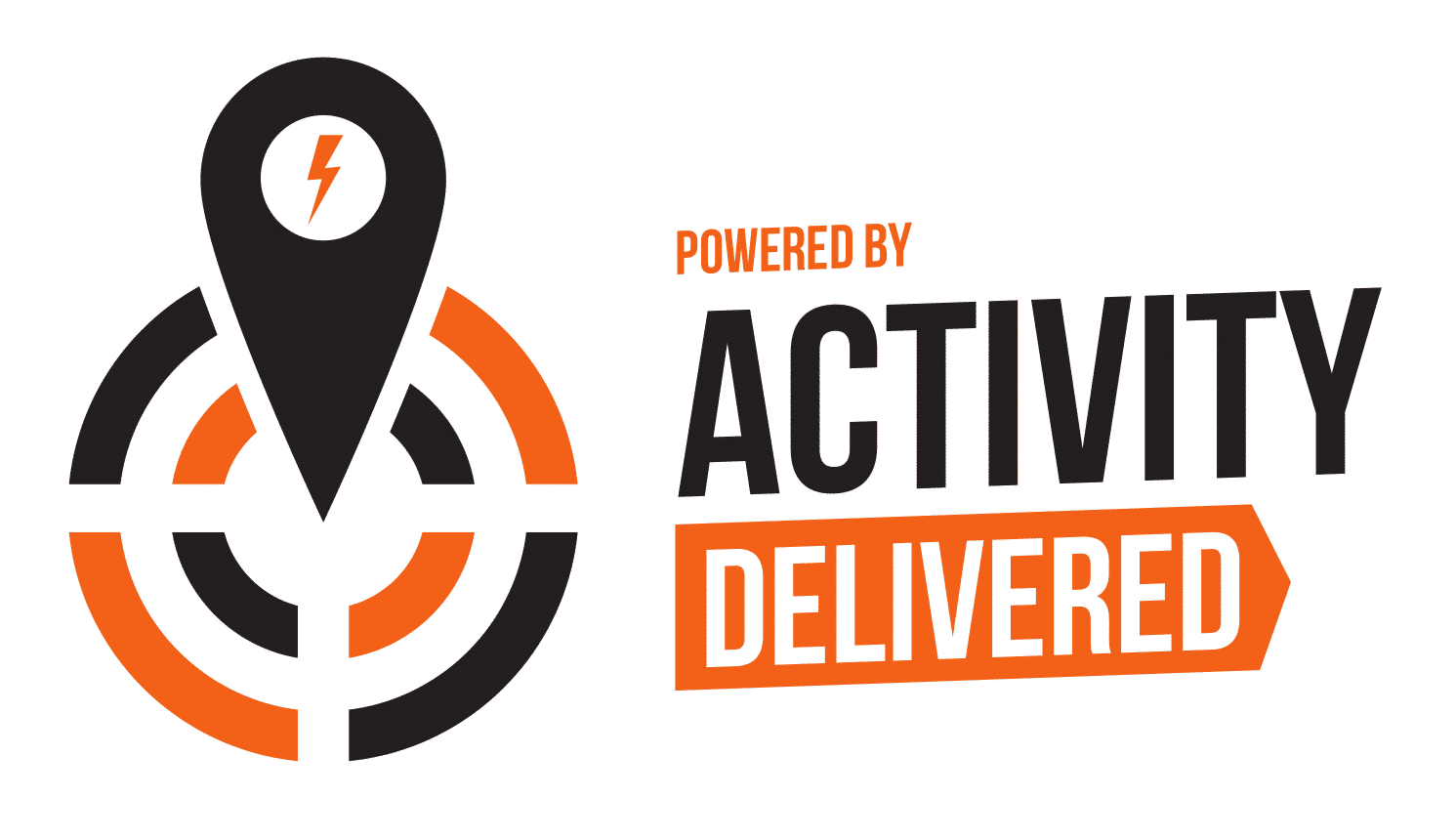 The Activity Delivered logo powered by